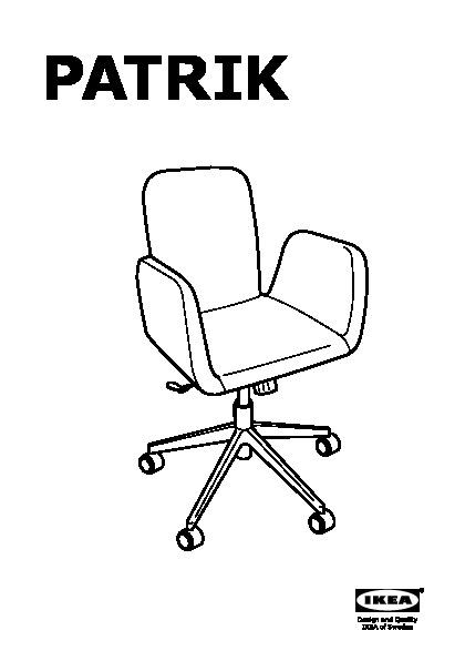Outstanding Patrik Swivel Chair Ultuna Dark Gray Ikea United States Inzonedesignstudio Interior Chair Design Inzonedesignstudiocom