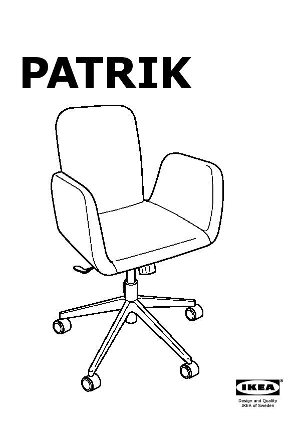 Enjoyable Patrik Swivel Chair Ultuna Dark Gray Ikea United States Inzonedesignstudio Interior Chair Design Inzonedesignstudiocom