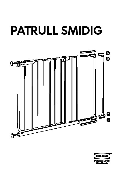 ikea patrull smidig safety gate. Black Bedroom Furniture Sets. Home Design Ideas