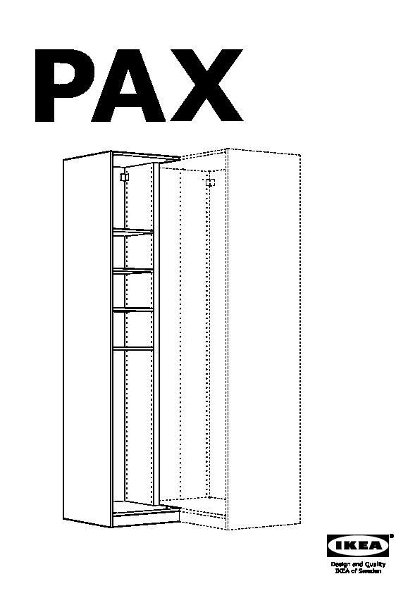 Pax Corner Wardrobe White Grimo White Ikea United States
