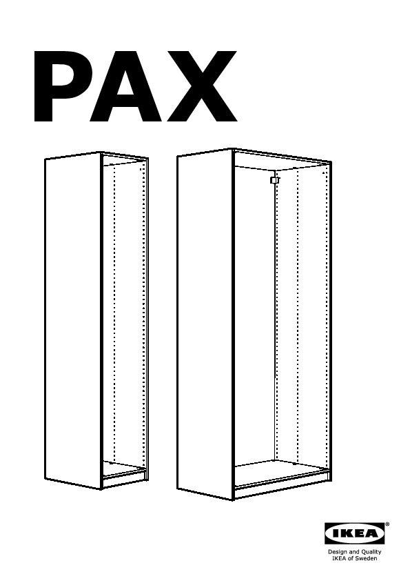 pax caisson d 39 armoire blanc ikea france ikeapedia. Black Bedroom Furniture Sets. Home Design Ideas