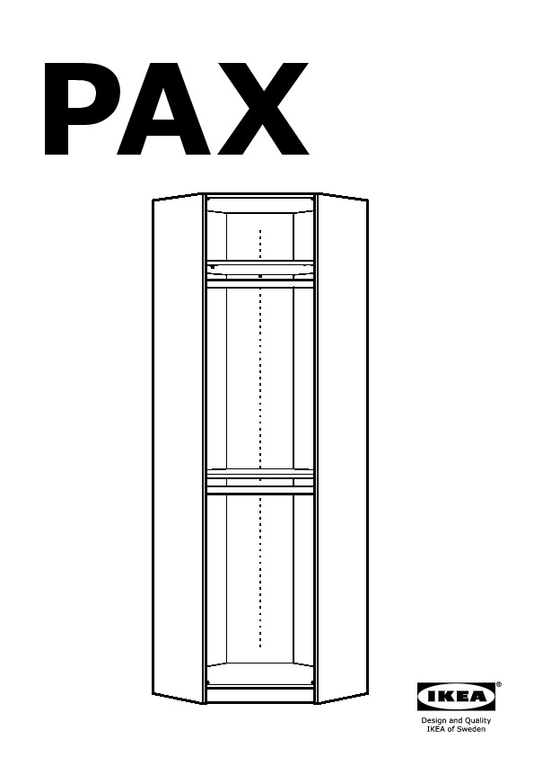 pax penderie d 39 angle blanc vikanes blanc ikea france ikeapedia. Black Bedroom Furniture Sets. Home Design Ideas