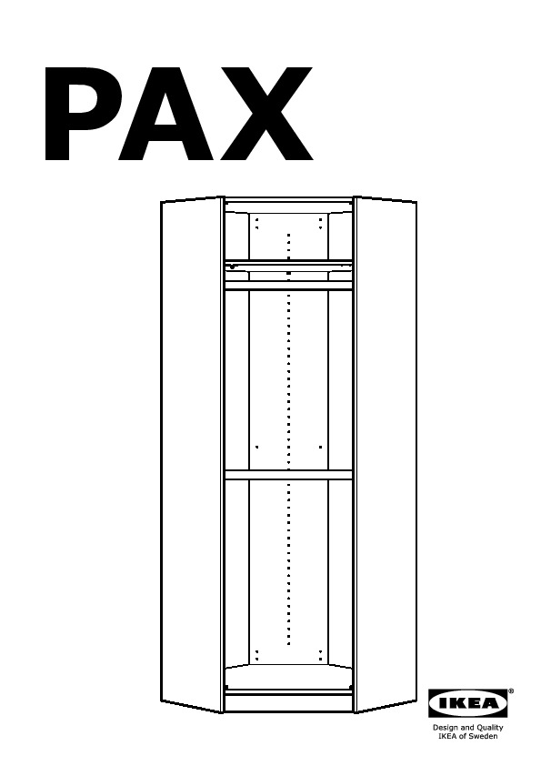 pax penderie d 39 angle blanc risdal gris moyen ikea france ikeapedia. Black Bedroom Furniture Sets. Home Design Ideas