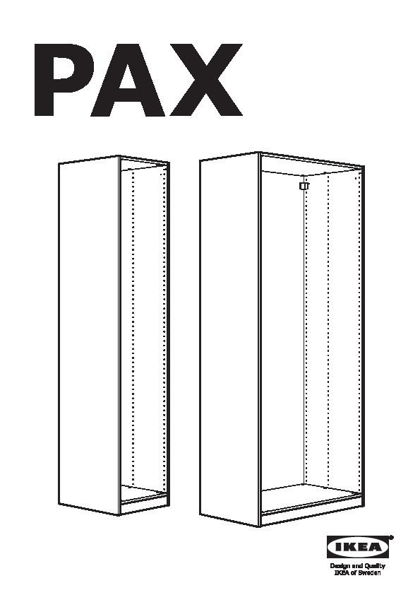 Pax Struttura Per Guardaroba.Pax Guardaroba Bianco Tyssedal Bianco Ikea Italy Ikeapedia