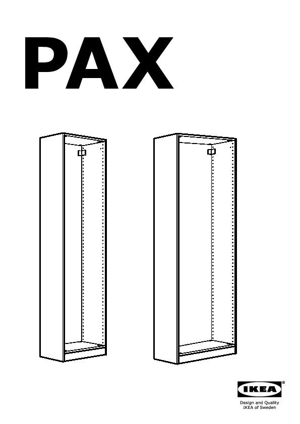 Pax guardaroba con ante scorrevoli bianco hasvik bianco for Ikea guardaroba con ante scorrevoli