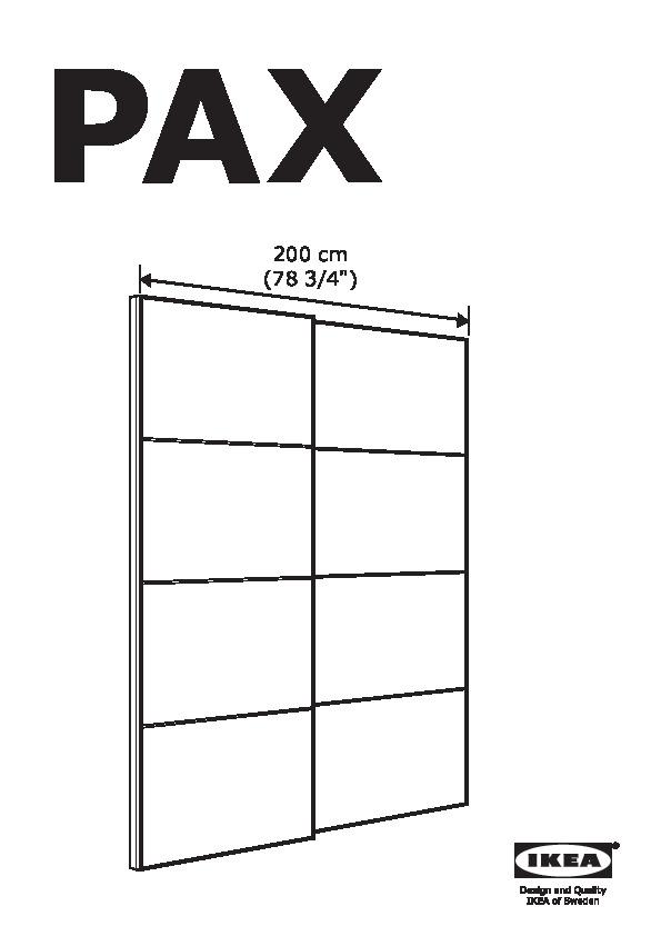 Binari Per Ante Scorrevoli Ikea.Pax Guardaroba Marrone Nero Auli Sekken Ikea Italy Ikeapedia