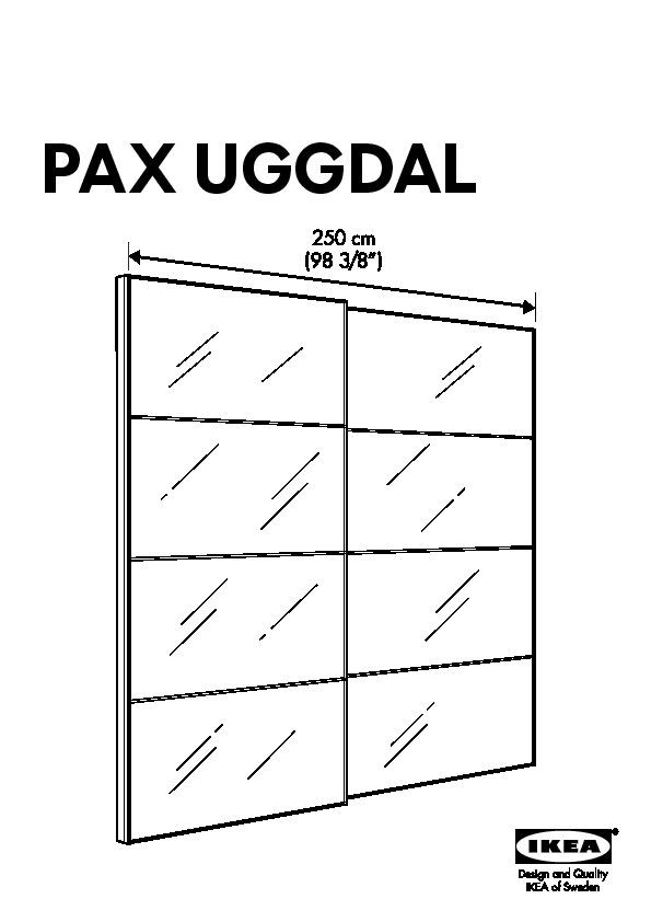 pax armoire portes coulissantes uggdal gris ikea belgium ikeapedia. Black Bedroom Furniture Sets. Home Design Ideas