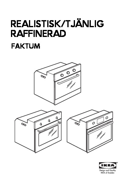 raffinerad four pyrolyse acier inoxydable ikea belgium ikeapedia. Black Bedroom Furniture Sets. Home Design Ideas