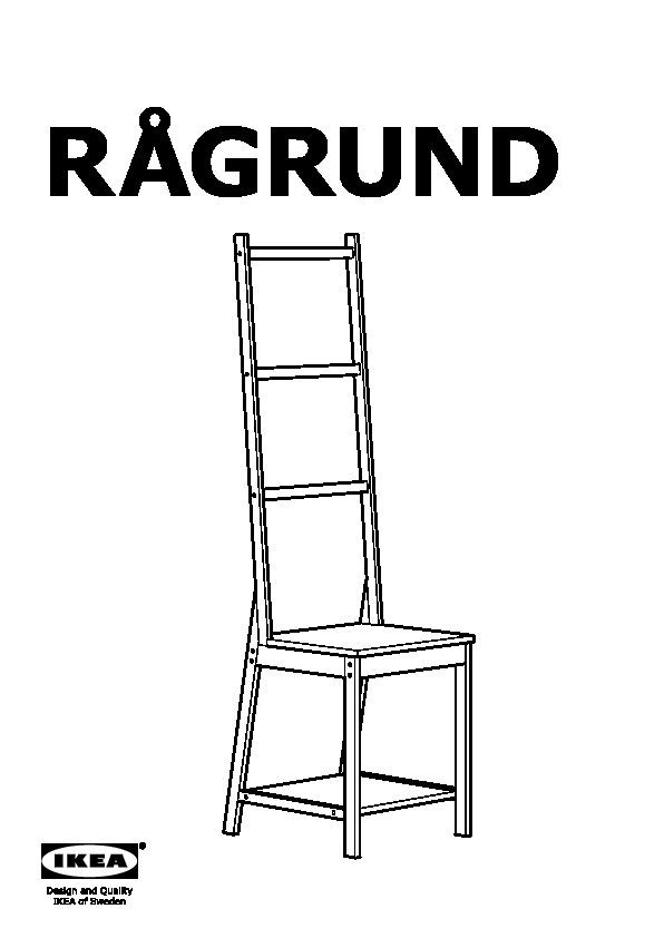 Ragrund Chaise Porte Serviettes Bambou Ikea France Ikeapedia