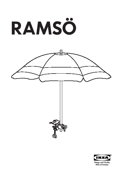 rams parasol divers coloris ikea france ikeapedia. Black Bedroom Furniture Sets. Home Design Ideas