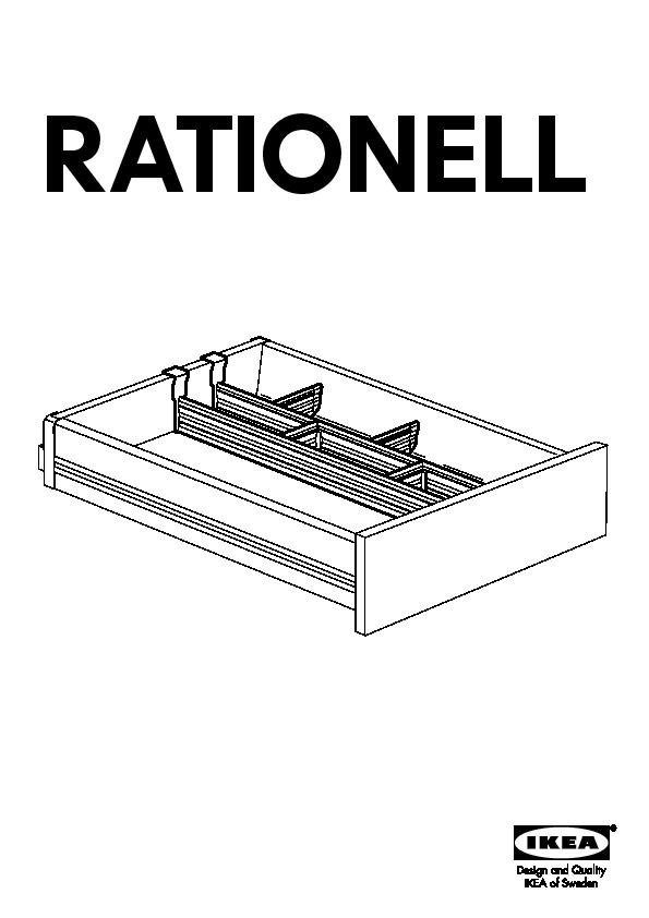 rationell s parateur tiroir lt base 6pces ikea france ikeapedia. Black Bedroom Furniture Sets. Home Design Ideas