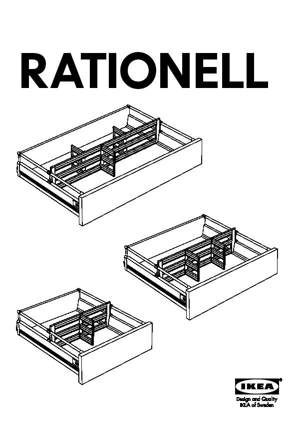 Rationell Drawer Divider For Deep Drawer