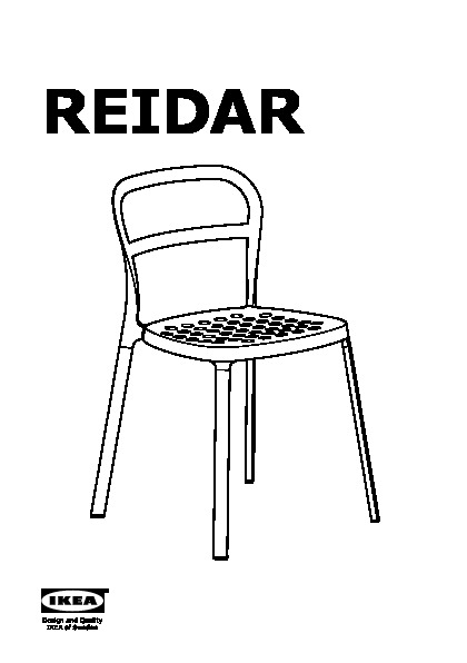 REIDAR Chair, In/outdoor