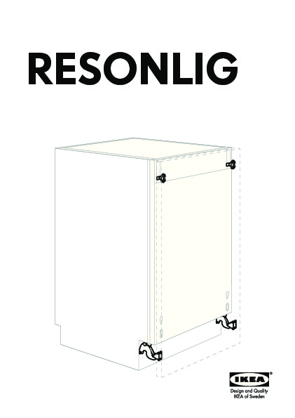 resonlig charni re coul lave vaisselle int g ikea france ikeapedia. Black Bedroom Furniture Sets. Home Design Ideas