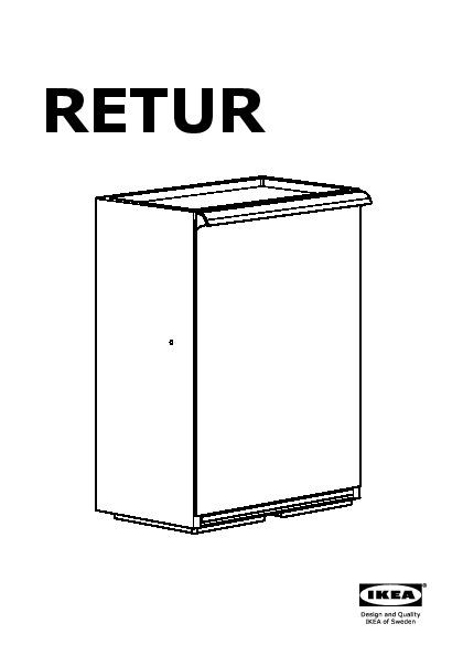 retur poubelle de tri blanc ikea france ikeapedia. Black Bedroom Furniture Sets. Home Design Ideas