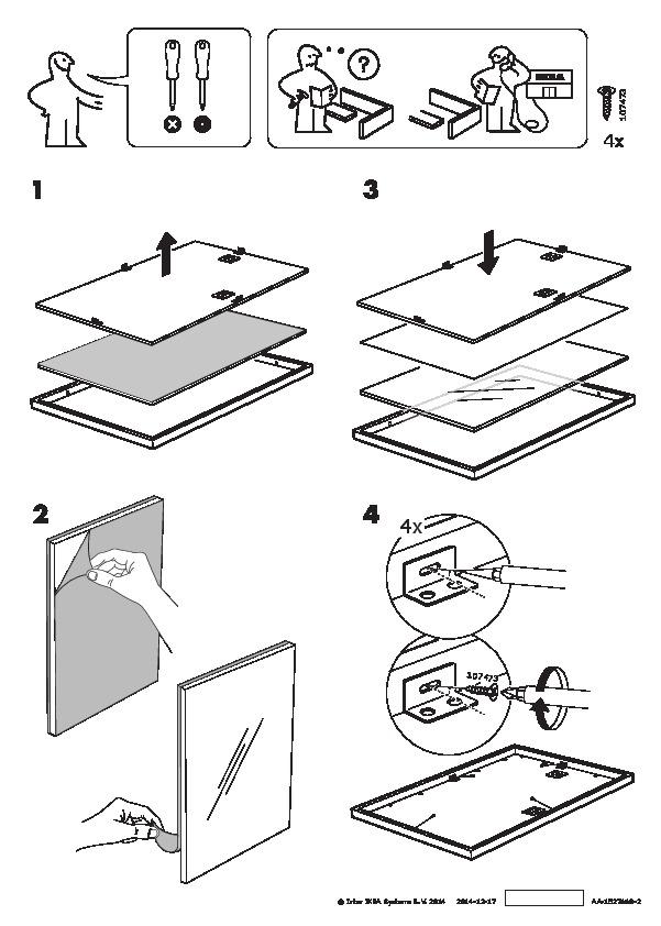 Ribba Cadre Noir Ikea France Ikeapedia