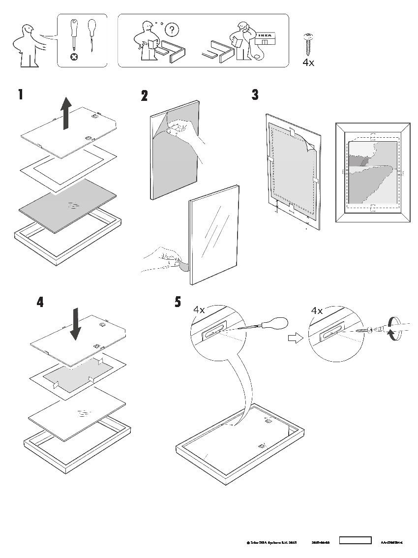 RIBBA Frame oak effect (IKEA United Kingdom) - IKEAPEDIA