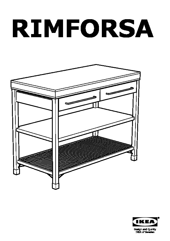 Rimforsa work bench ikea canada english ikeapedia for Ikea rimforsa work bench