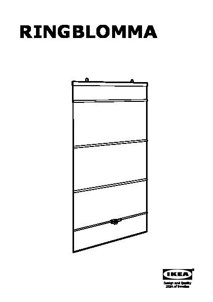 ringblomma roman blind white ikea canada english ikeapedia. Black Bedroom Furniture Sets. Home Design Ideas