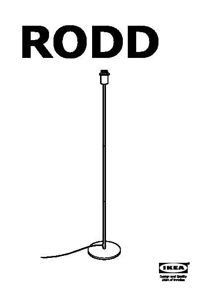 Rodd Pied De Lampadaire Couleur Laiton Ikea France Ikeapedia