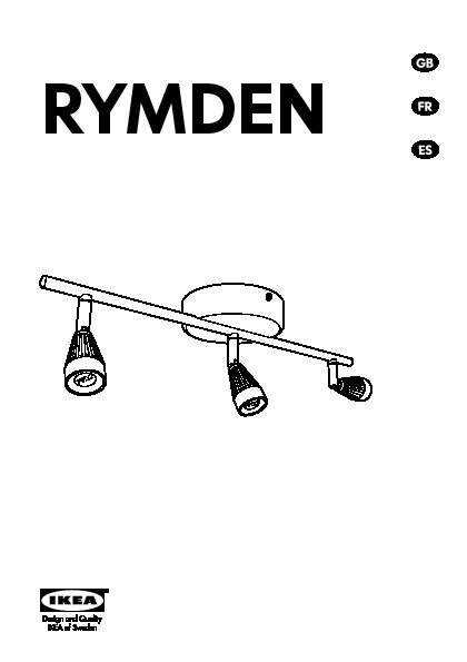 Rymden led ceiling track 3 spots nickel plated ikea for Ikea tracking usa