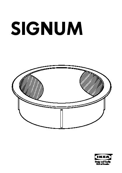 Signum Kit Sortie De Câbles Ikea France Ikeapedia