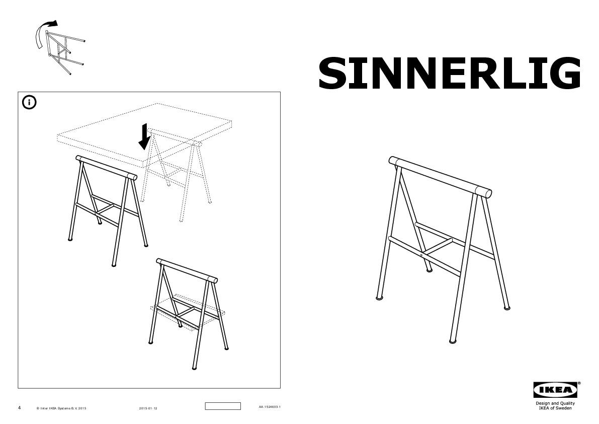 Panneau En Liège Ikea sinnerlig table liège naturel, noir (ikea france) - ikeapedia