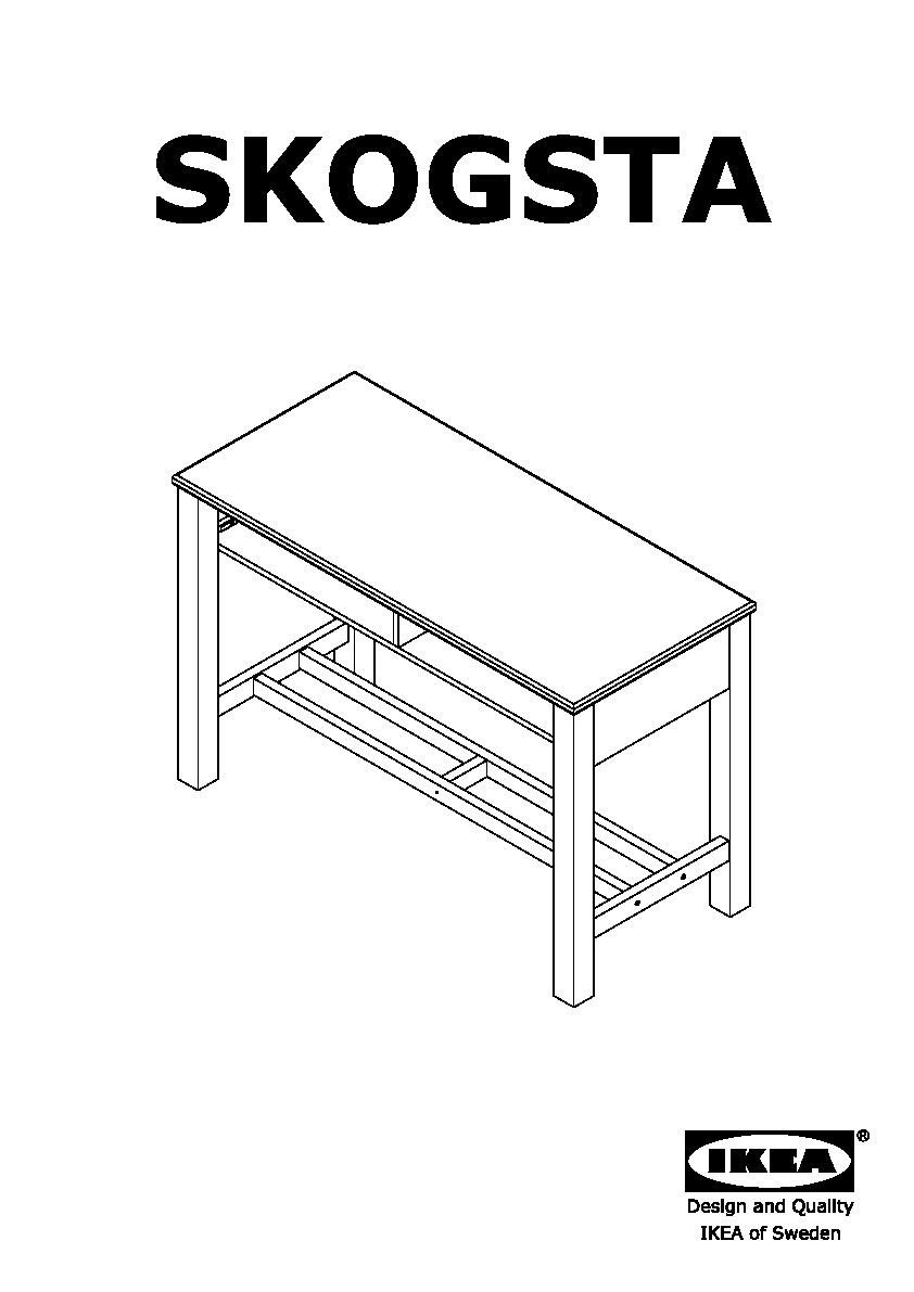 skogsta bar table acacia ikea united kingdom ikeapedia. Black Bedroom Furniture Sets. Home Design Ideas