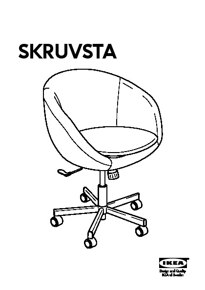 SKRUVSTA Swivel chair  sc 1 st  IKEADDICT : skruvsta swivel chair - Cheerinfomania.Com