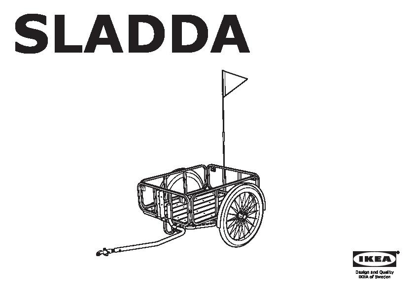 Sladda Rimorchio Bicicletta Ikea Italy Ikeapedia