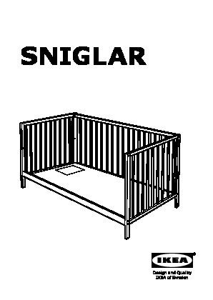 Sniglar Crib Beech Ikea United States Ikeapedia