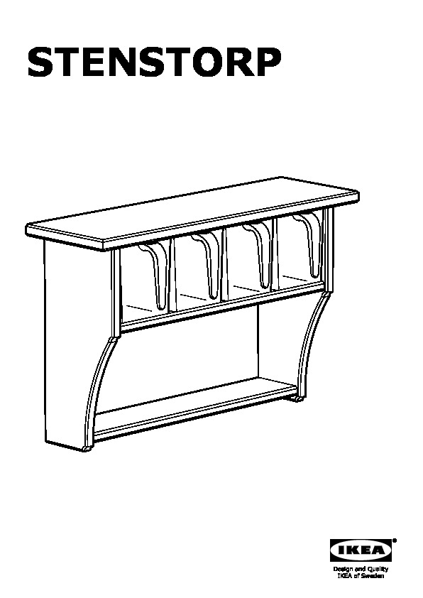 stenstorp tag re murale avec tiroirs blanc ikea france. Black Bedroom Furniture Sets. Home Design Ideas