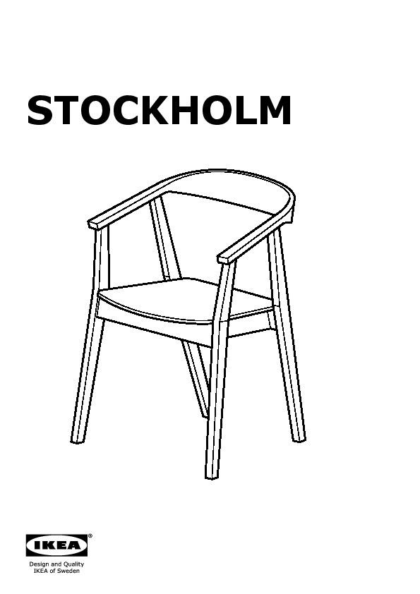 Stockholm chaise ikea france ikeapedia - Ikea chaise stockholm ...