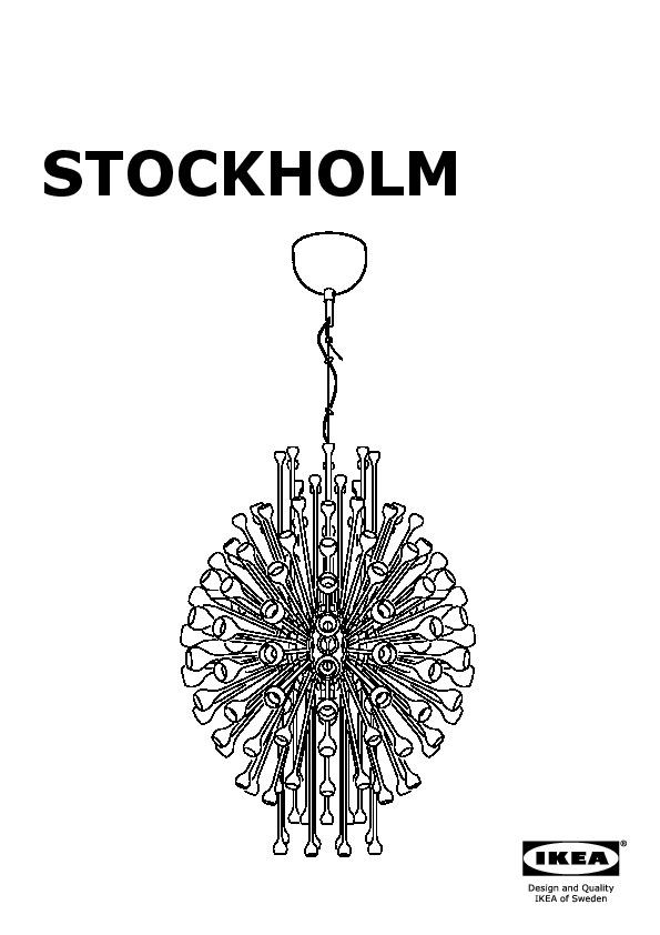 STOCKHOLM Chandelier - STOCKHOLM Chandelier (IKEA United States) - IKEAPEDIA