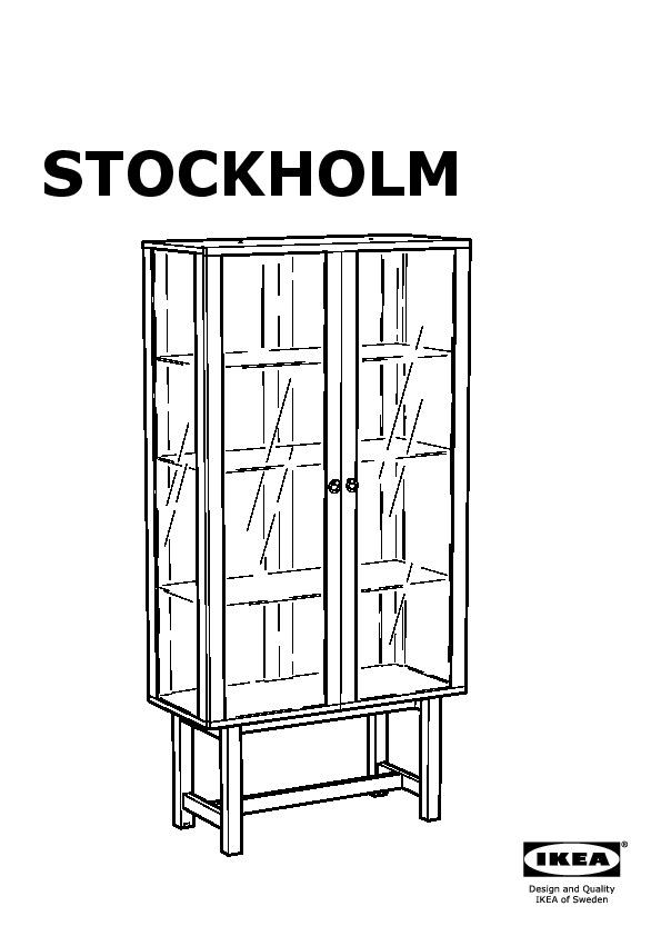 Stockholm Glass Door Cabinet Yellow Ikea United States Ikeapedia