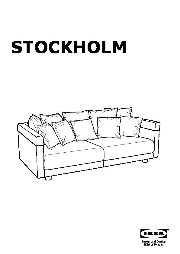 Outstanding Stockholm 2017 Sofa Sandbacka Dark Blue Ikea United States Interior Design Ideas Ghosoteloinfo
