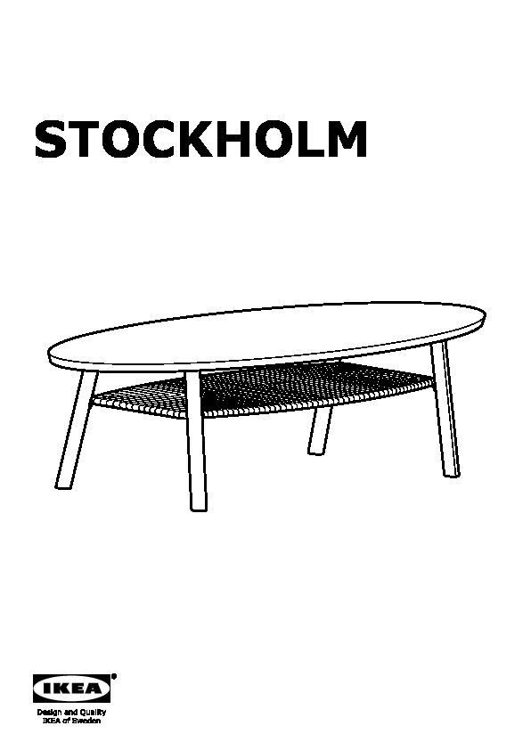 stockholm table basse plaqu noyer ikea france ikeapedia. Black Bedroom Furniture Sets. Home Design Ideas