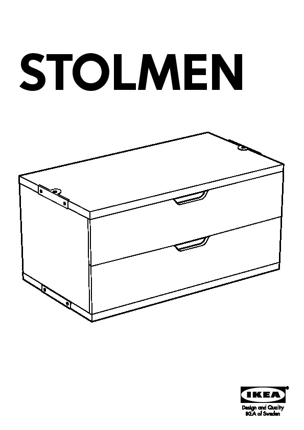 stolmen commode 2 tiroirs blanc ikea france ikeapedia. Black Bedroom Furniture Sets. Home Design Ideas