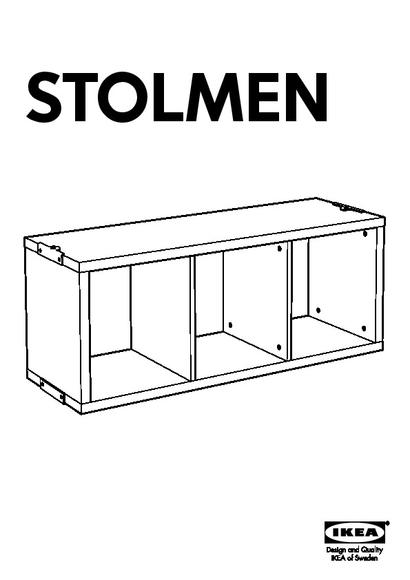 stolmen 3 sections blanc ikea france ikeapedia. Black Bedroom Furniture Sets. Home Design Ideas