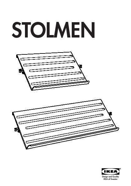 Stolmen 2 Sections White Ikea United States Ikeapedia