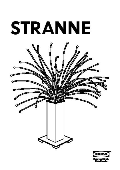 Stranne Lampe De Table A Led Acier Ikea France Ikeapedia