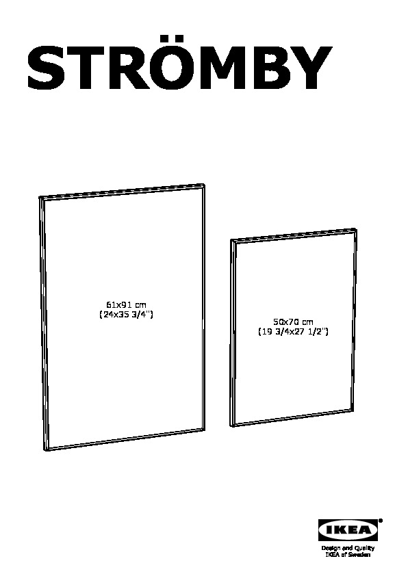 ikea stromby frame instructions