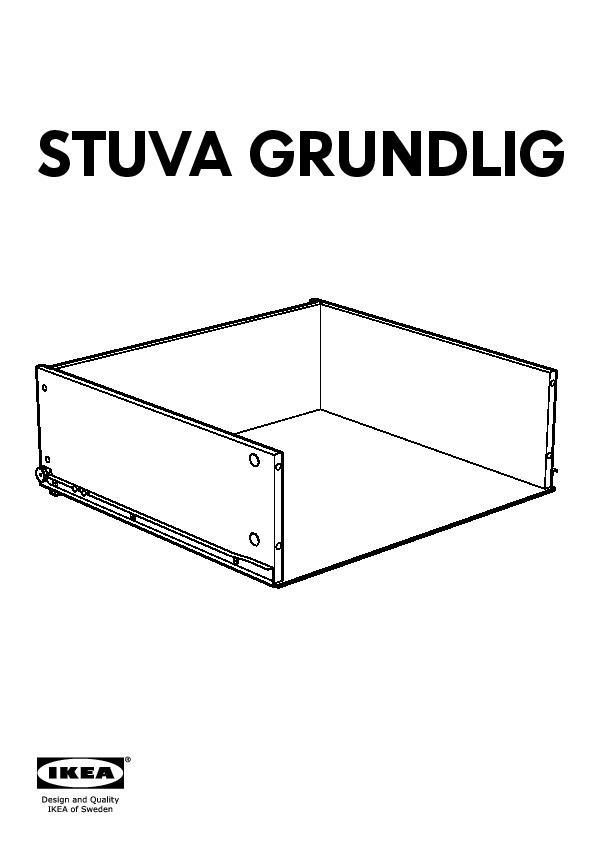 Stuva Flja Wardrobe With 2 Doors2 Drawers White Ikea Canada