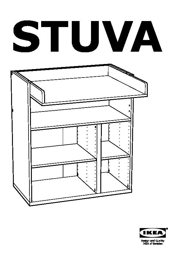 stuva table langer 4 tir blanc vert ikea france. Black Bedroom Furniture Sets. Home Design Ideas