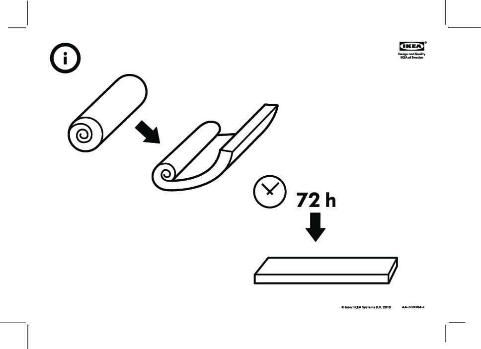 sultan flat ker matelas mousse polyur thane blanc ikea france ikeapedia. Black Bedroom Furniture Sets. Home Design Ideas
