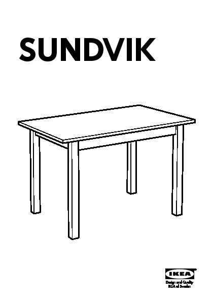 sundvik children 39 s table white ikea united kingdom ikeapedia. Black Bedroom Furniture Sets. Home Design Ideas
