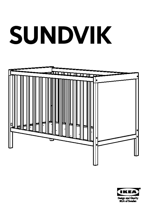 Lit bebe sundvik - Notice lit ikea ...
