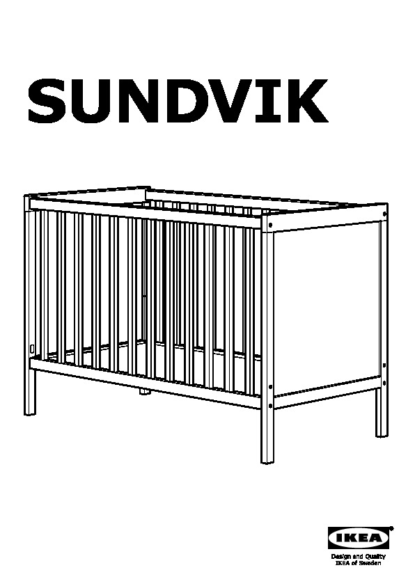 sundvik lit b b gris brun ikea belgium ikeapedia. Black Bedroom Furniture Sets. Home Design Ideas