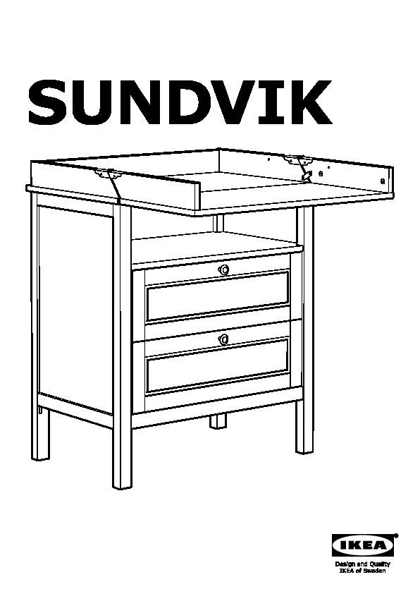 sundvik table langer commode blanc ikea france ikeapedia. Black Bedroom Furniture Sets. Home Design Ideas