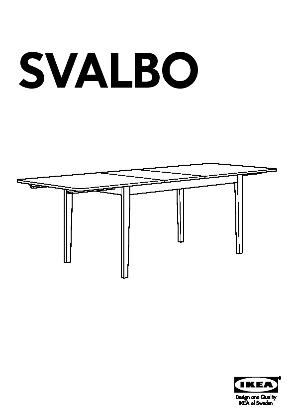 Svalbo Bertil Table And 4 Chairs Pine Ikeapedia